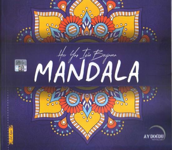 Her Yaş İçin Boyama Mandala