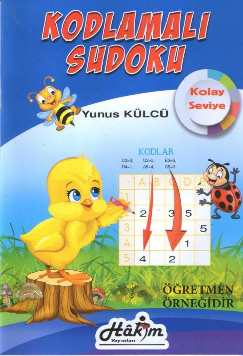 Kodlamalı Sudoku Kolay Seviye 1 ve 2.Sınıf