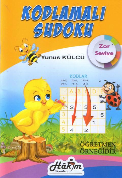 Kodlamalı Sudoku Zor Seviye 3 ve 4.Sınıf